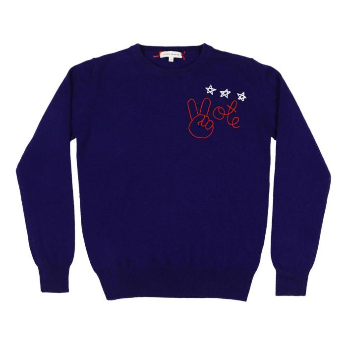 Lingua Franca, vote, vote sweater