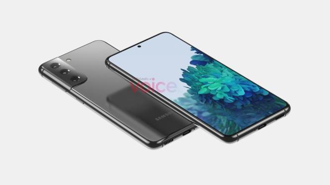 Samsung Galaxy S21 Ultra leaked design.