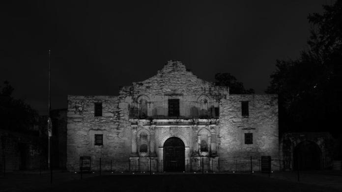 haunted Alamo texas