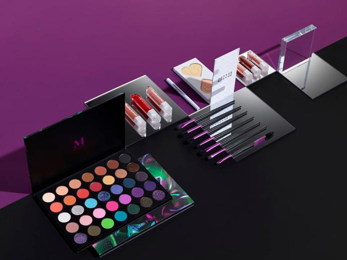 Nikita Dragun's collection for Morphe, alongside her namesake Dragun Beauty products