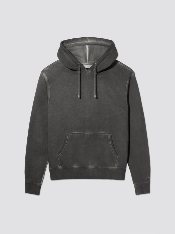 Alpha Industries took its signature Battlewash style and created THE most essential hoodie for men. Since 1959, Alpha Industries has distinguished itself as a maker of exceptional jackets and outerwear and this hoodie offers the perfect blend of function and heritage with innovation and style.