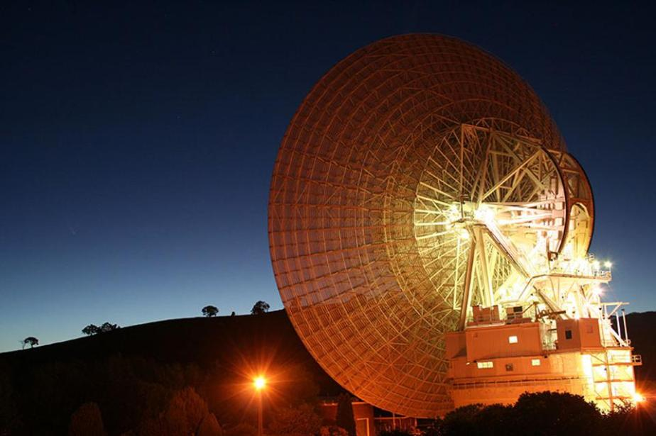 NASA's Deep Space Station 43 (DSS43) radio telescope is massive: 70 meters in size.