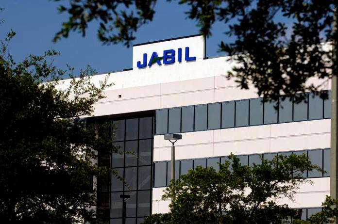 The St. Petersburg headquarters of Jabil, a top Apple supplier, with $27 billion in annual revenue.