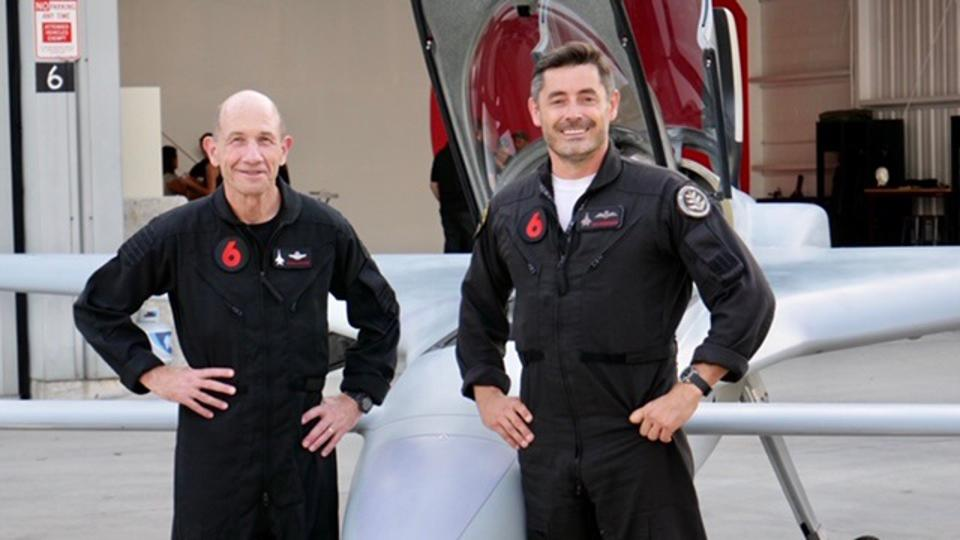 General Mike Holmes with Dan Robinson