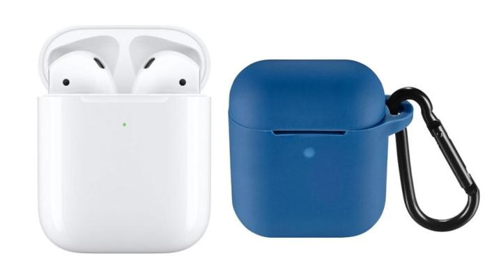Apple - AirPods with Wireless Charging Case (Latest Model) - White and Insignia