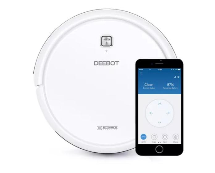 Ecovacs DEEBOT N79W multi-surface robot vacuum with application control