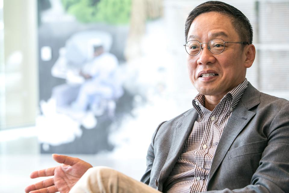 Hyundai Card Chief Executive Officer Ted Chung Interview