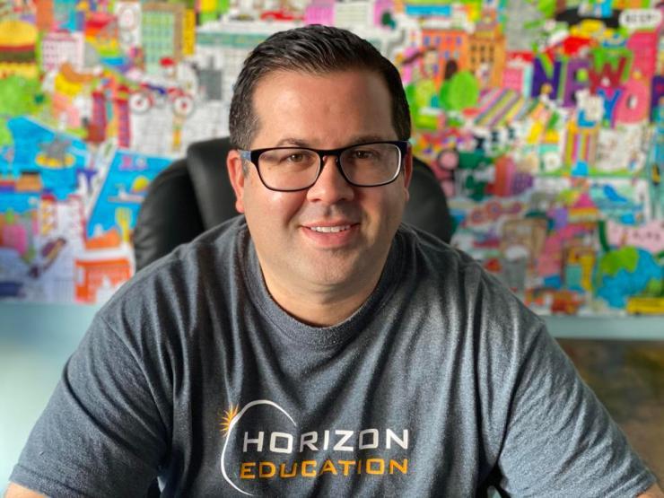 Horizon Education's Dustin Bainbridge