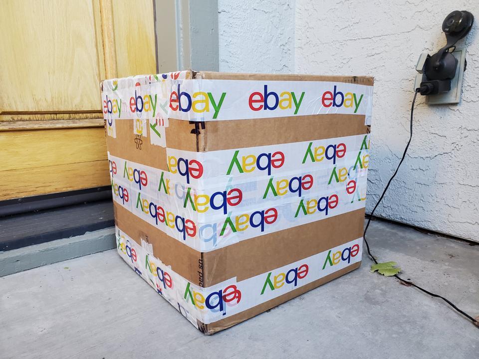 Ebay Shipping Box