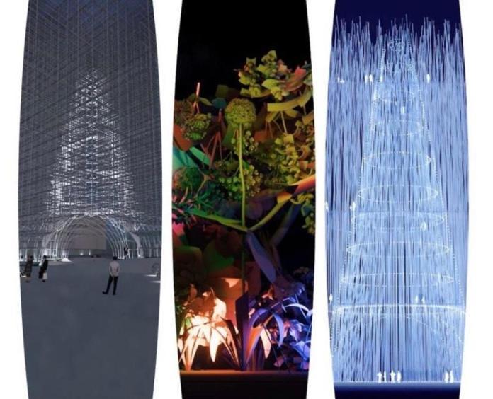 Three winning designs