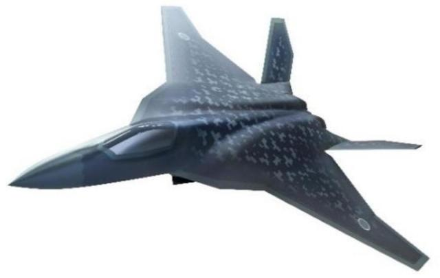 Concept art released by Japanese Ministry of Defense of the Mitsubishi F-X fighter.