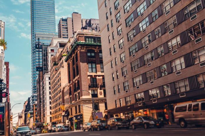 Lexington Avenue in midtown Manhattan
