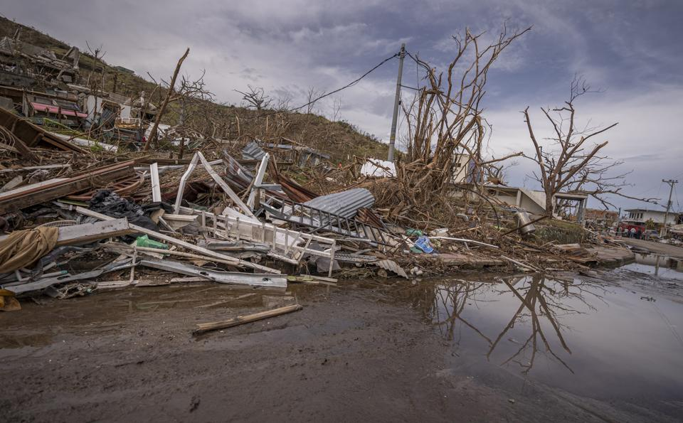 Aftermath of Hurricane Iota in the Colombian Caribbean