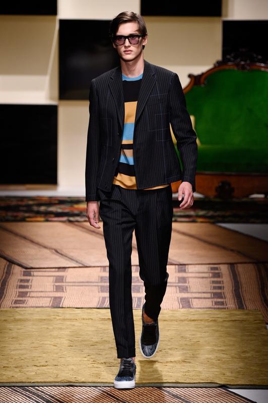 Salvatore Ferragamo - Runway - Milan Collections Men SS16
