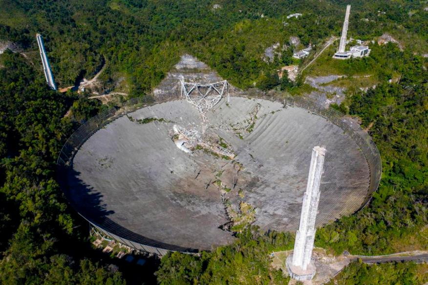 PUERTORICO-SCIENCE-ASTRONOMY-OBSERVATORY-US-Science-Astronomie