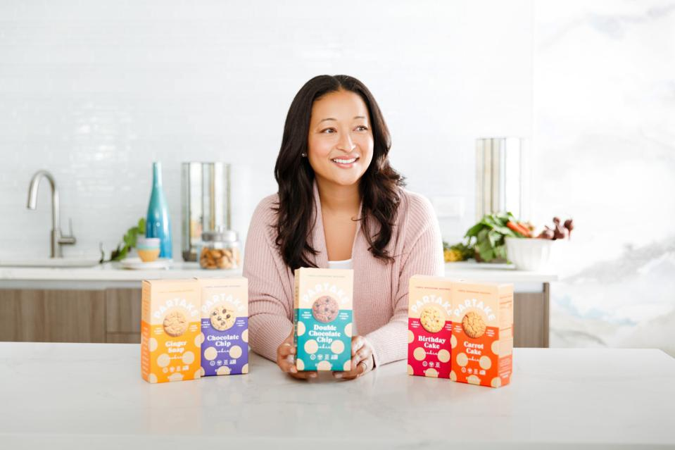 Partake Foods founder and CEO Denise Woodard wants to help move the funding needle for other entrepreneurs of color.