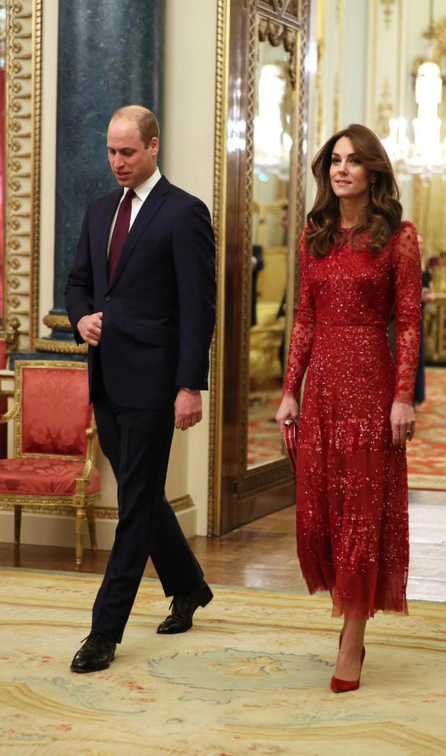 The Duke And Duchess Of Cambridge in January 2020