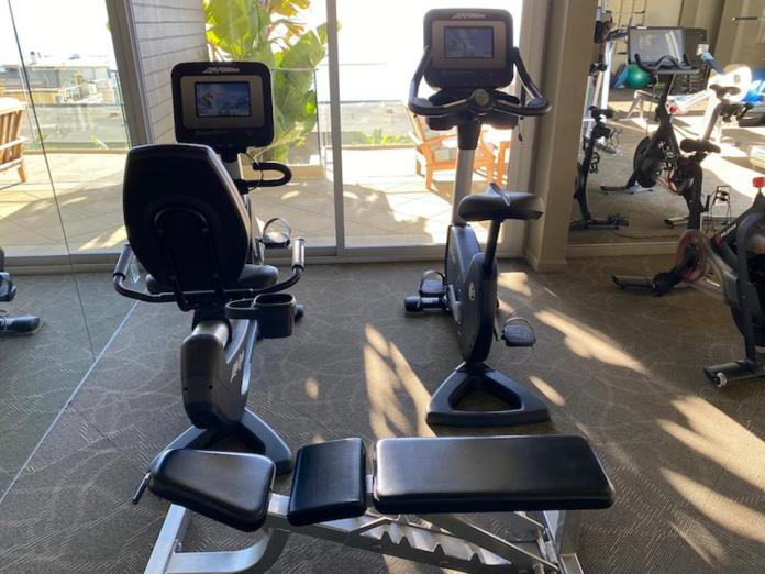 equipment in a home gym