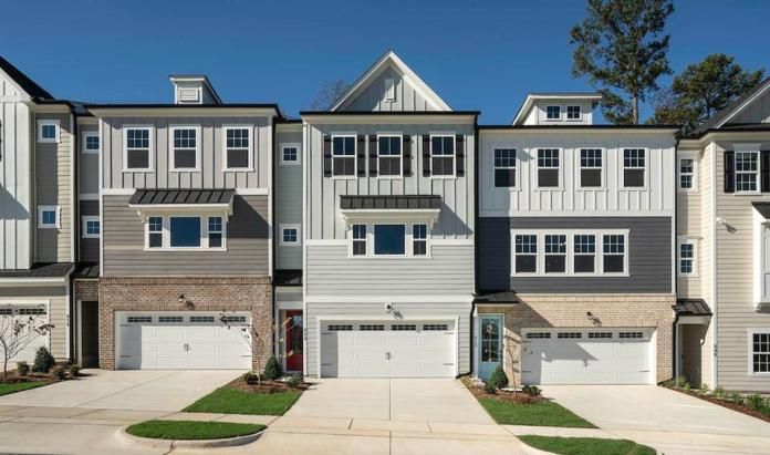 Attached, single-family townhouses, in the Raleigh, N.C.-market.