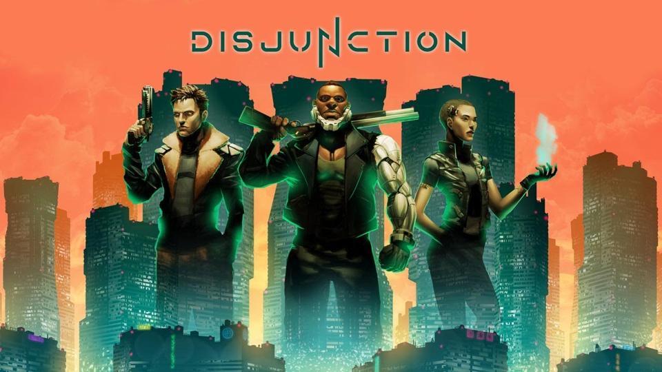 Disjunction game logo