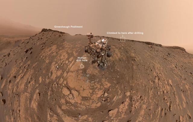 Martian Curiosity