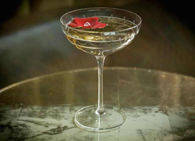 The 'Fleurissimo' cocktail by Connaught Bar.