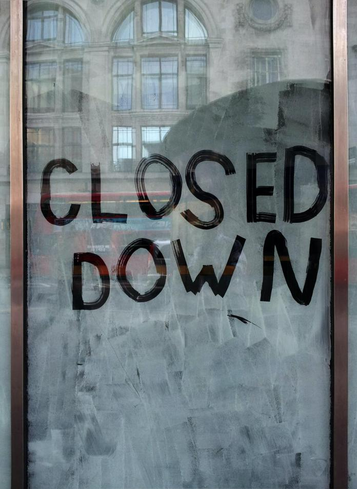 Business that is closed down for good
