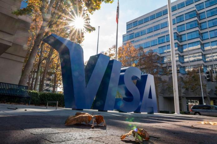 Visa Inc. headquarters in Foster City, California