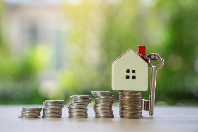 Save money for home,Home insuranse Concept