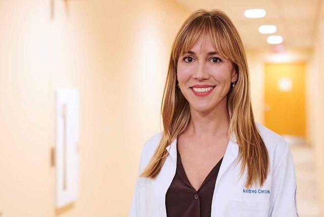 A picture of Dr Andrea Cercek
