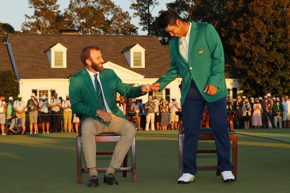 Hideki Matsuyama. golf, Masters, sponsorship, Lexus, Japaan