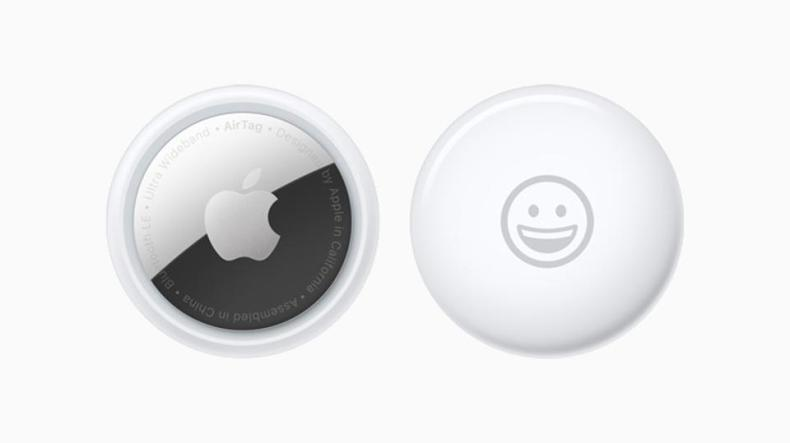 The new Apple AirTag item tracker and location finder.