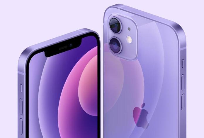 Apple, iPhone, iPhone 12 Mini, iPhone 12, Purple iPhone 12, New iPhone, iPhone Upgrade,