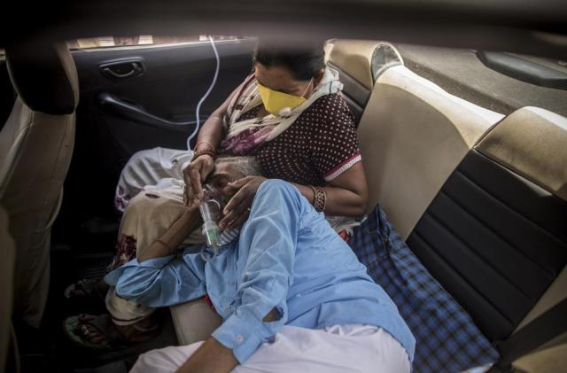 India Struggles To Contain Huge Wave Of Covid-19 Infections