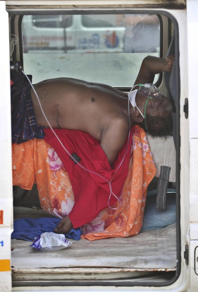 Virus Outbreak India's Oxygen Crisis Photo Gallery