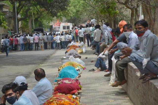 Cremation Of Covid Victims