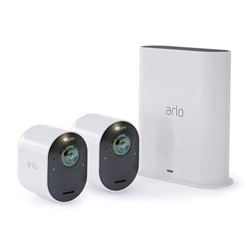 Arlo Ultra - 4K UHD Wire-Free Security 2 Camera System
