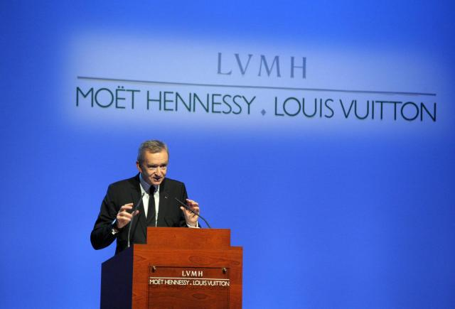 French luxury giant LVMH Chief Executive