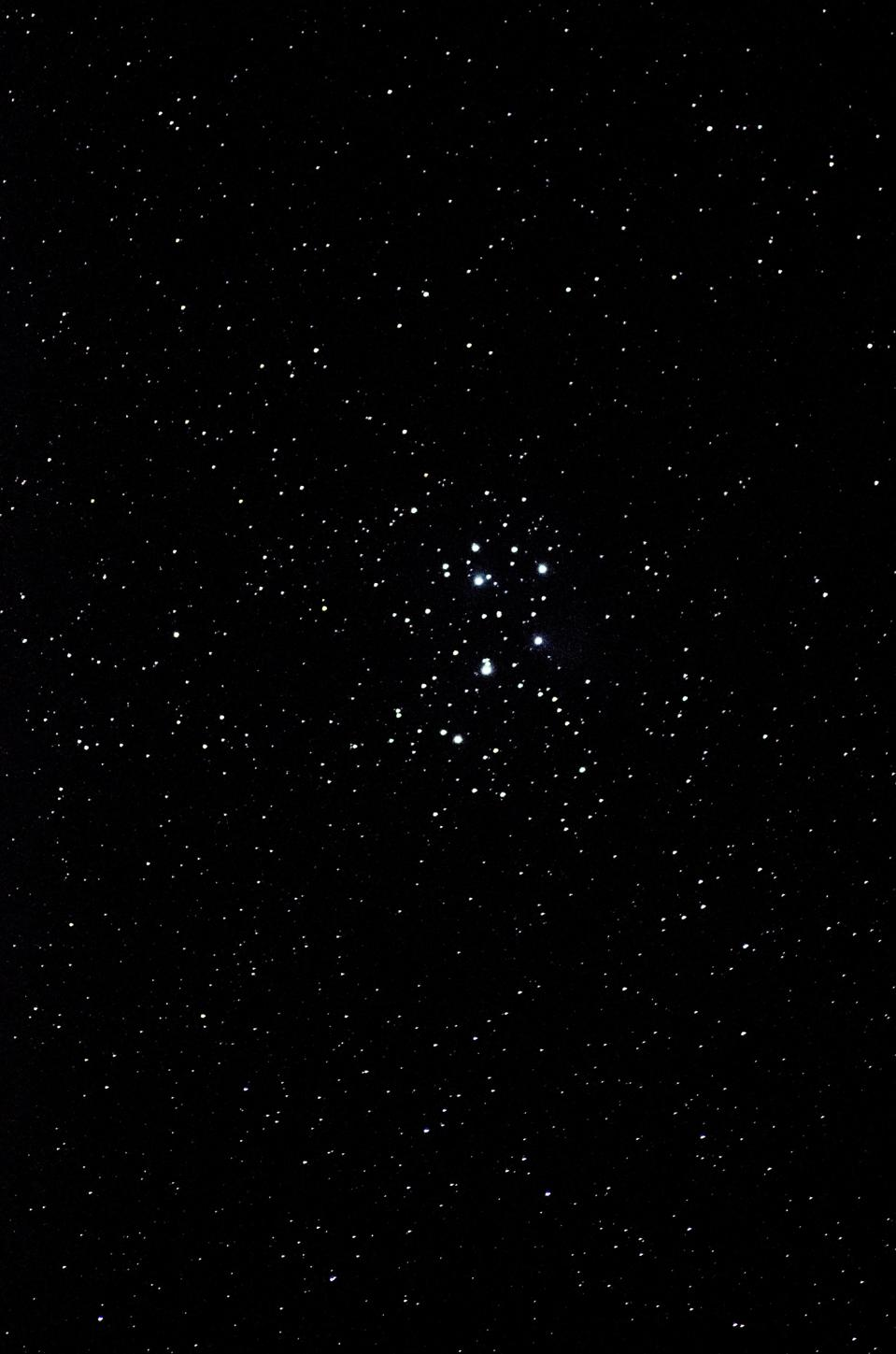The Beehive Cluster in the constellation of Cancer.