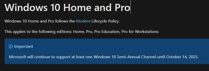 Microsoft In Surprise Move To Kill Windows 10 In 2025: New Version Coming  Soon