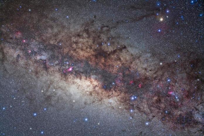 Scorpius and Sagittarius