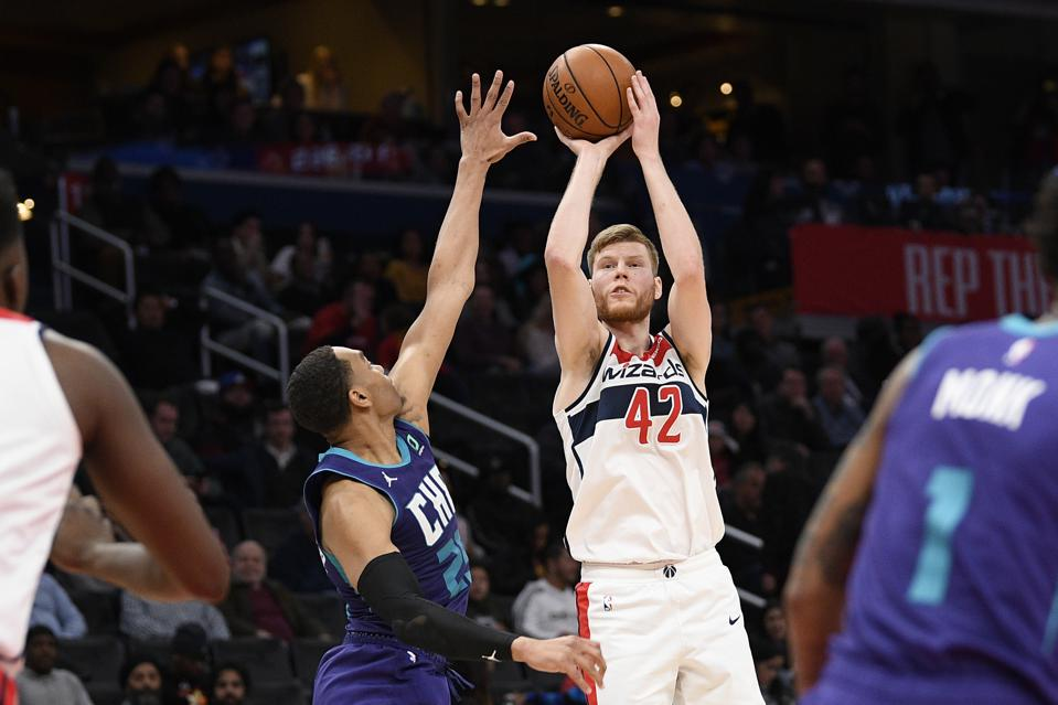 Image result for davis bertans basketball reference""