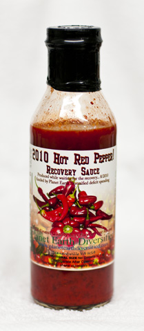 "Hot Red Pepper Sauce #9 - ""2010 Recovery Sauce"""