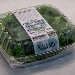 Clamshell of Baby Salad Mix