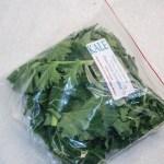 Mixed Green Baby Kale Bag