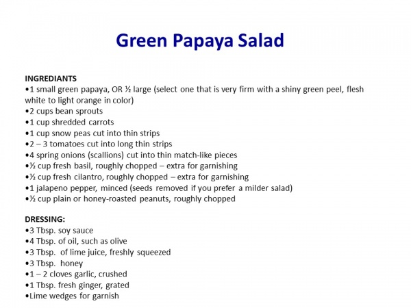 Green-Papaya-Recipe