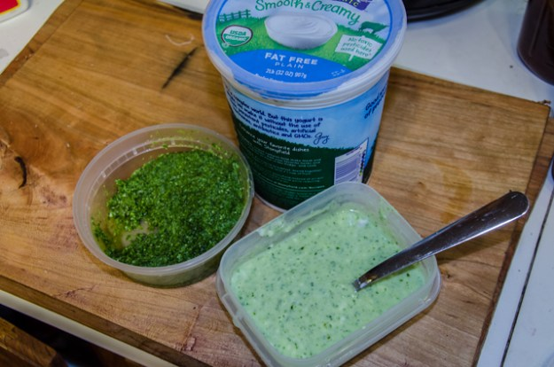 Watercress Pesto Salad Dressing