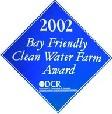 Clean Water Farm Award 2002