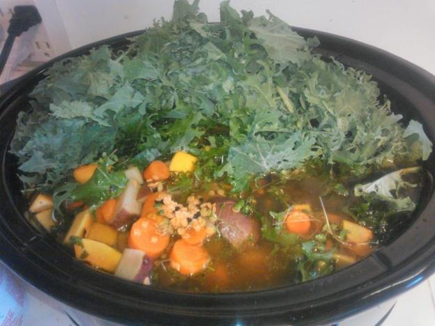 2017 CSA_Winter_Jan_14 Crock Pot Kale