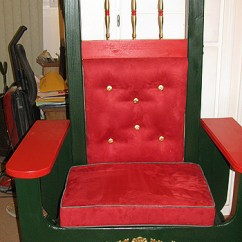 Folding Chairs For Rent Wrestling Sale Santa Claus Chair Rental | Special Visits